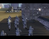 Soldiers march on Coruscant
